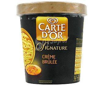Frigo Carte D'Or Helado de caramelo y crema pastelera Signature Crème Brûlée Tarrina 450 ml