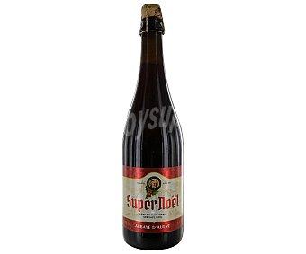 SUPER NOËL Cerveza belga de importación botella de 75 centilitros