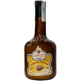 GONQUI licor de crema de torrijas botella 70 cl