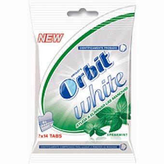 Orbit Chicles de hierbabuena White Pack 2x40 g