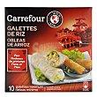 Obleas de arroz para Rollitos 100 g Carrefour