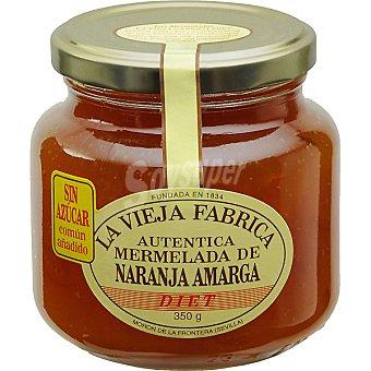 La Vieja Fábrica mermelada de naranja amarga sin azúcar frasco 340 g