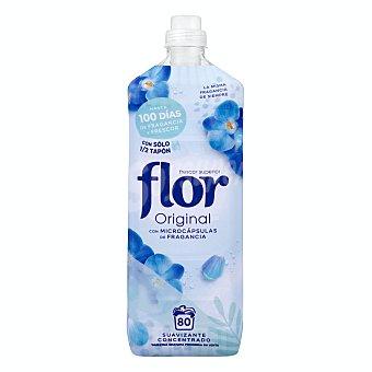 Flor Suavizante concentrado azul original 80 lavados