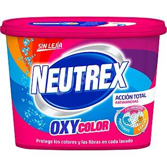 Neutrex Oxy color quitamanchas sin lejía bote 512 g 18 dosis