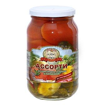 Tewnhbi Pelientbi Surtido tomate pepino y calabaza en conserva 460 g
