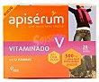 Jalea real fresca con 12 vitaminas en viales bebibles 20 uds Apiserum
