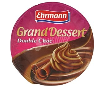 GRAND DESSERT Postre Lácteo chocolate Double Choc 200 Gramos