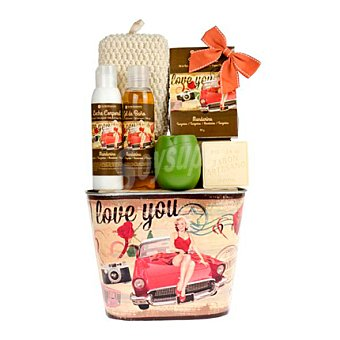 Flor de Mayo Set de baño Love you 1 ud