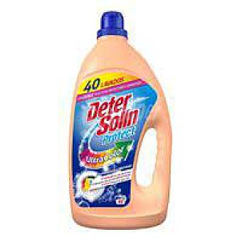 Detersolin Detergente líquido ultra color Garrafa 33+10 dosis