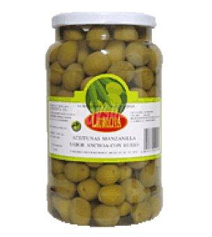 Lauroliva Aceitunas Manzanilla Sabor Anchoa Con Hueso 800 g