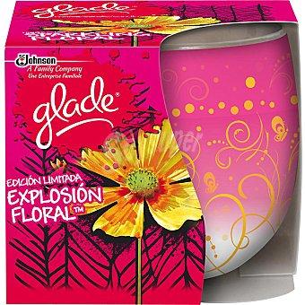 Glade Brise Ambientador vela Explosión Floral 1 unidad