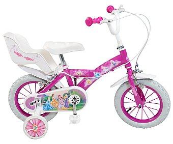 TOIMSA Bicicleta Infantil Princesas Disney 1 Velocidad 12 Pulgadas 1 Unidad