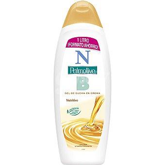 NB Palmolive Gel de baño nutritivo en crema con miel y leche hidratante Bote 1000 ml