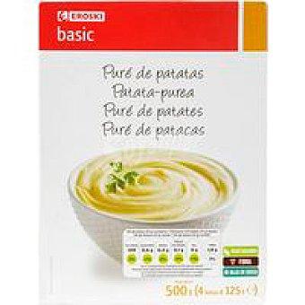 Eroski Basic Puré de patatas Caja de 500 g