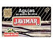 Conservas de agujas en aceite de oliva 88 g Javimar