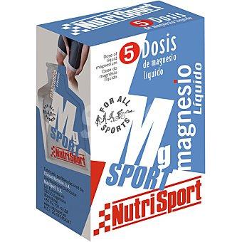 NUTRISPORT  Magnesio 5 líquido  Envase de 125 g
