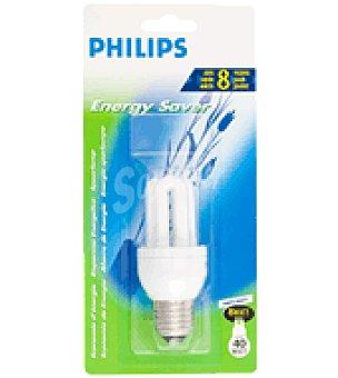 Philips Bombilla larga duracion 8A 8W E27 luz fria