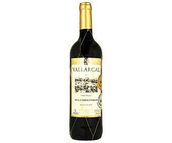 Vallarcal Vino tinto de la tierra de Extremadura Botella de 75 cl