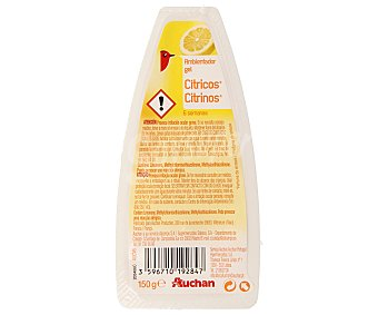 Auchan Ambientador absorbeolores de gel 2 en 1 fragancia cítricos 180 gr