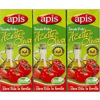 Apis Tomate frito de oliva Pack 3x125 g