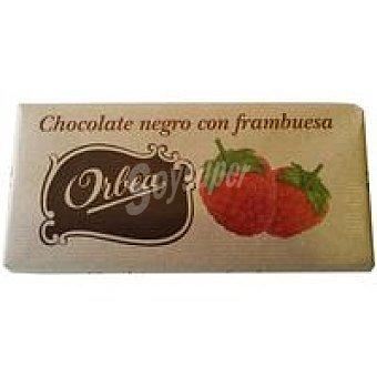 Orbea Chocolate negro con frambuesa Tableta 125 g
