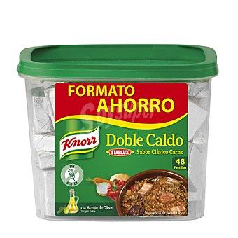 Knorr Doble caldo sabor carne 48 ud