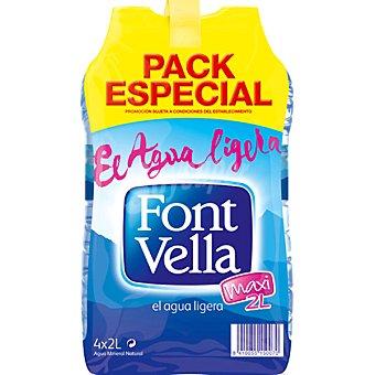 Font Vella Agua mineral Pack 4 botellas 2 l