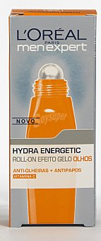 Men Expert L'Oréal Paris L'oreal Roll-on ojos Hydraenergetic 10ml