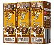 Batido de chocolate Pack 3 briks x 200 ml Feiraco