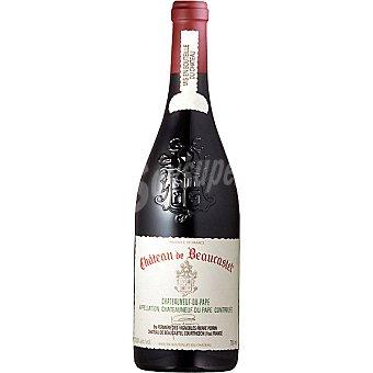 Château de Beaucastel Vino tinto Chateauneuf du Pape Ródano Francia Botella 75 cl