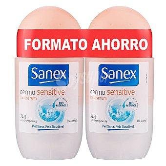 Sanex Desodorante Dermo Sensitive Roll-on Pack 2x45 ml