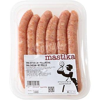 MASTIKA Salchichas de pollo Bandeja 300 g