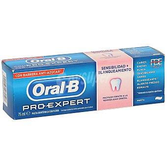 Oral-B Pasta dentífrica pro-expert sensibilidad + blanqueamiento Tubo 75 ml