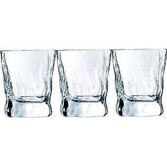 LUMINARC Icy Vasos de vidrio Fb set de 3 unidades 30 cl