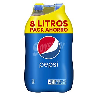 Pepsi Refresco de cola Pack 4x2 litros