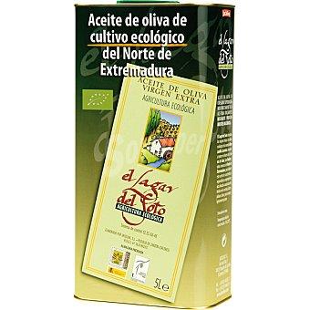 Lagar del soto Aceite de oliva virgen extra ecológico 100% manzanilla cacerela lata 5 l lata 5 l