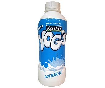 Kaiku Yogur Yog's natural para beber Botella 750 ml