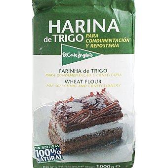 El Corte Inglés Harina de trigo especial repostería Paquete 1 kg