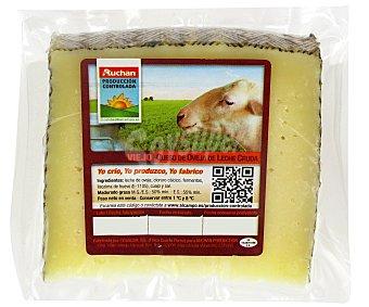 Auchan Producción Controlada Queso Oveja Viejo Leche Cruda 1/6 kg.