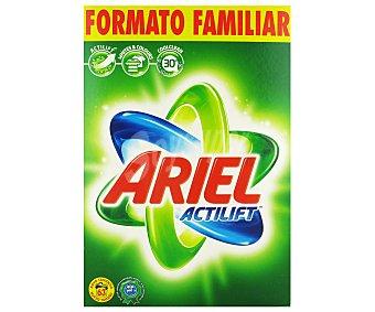 Ariel Detergente maquina polvo con Actilift maleta 63 cacitos 63 cacitos