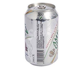 Ambar Cervezas sin alcohol (0,0% Vol.) para celiacos Lata de 33 centilitros