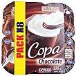 Copa chocolate y nata 8 unidades de 115 g (920 g) Hacendado