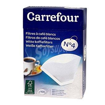 Carrefour Papel filtro café 100/6-12tz