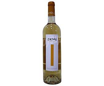 Rey zagal Vino blanco con denominación de origen protegida Vino de Calidad de Granada zagal Botella de 75 cl