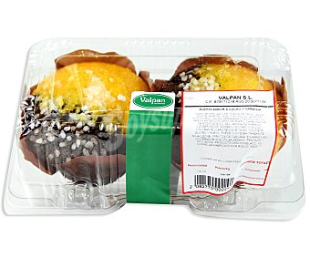 BIZCOCHO Muffin Naranja-Chocolate 240g