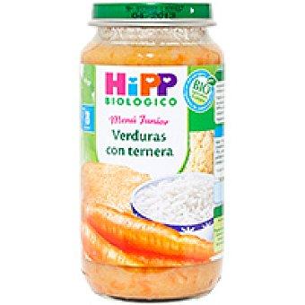 HiPP Biológico Tarrito biológico de verduras con carne Tarro 250 g