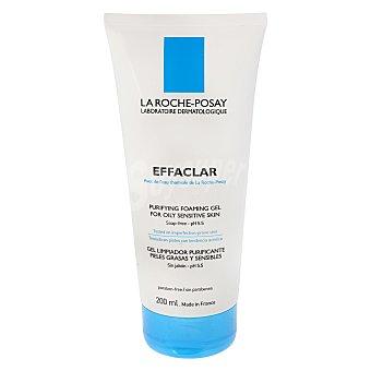 La Roche-Posay Effaclar gel mousse purificante para pieles sensibles y grasas Tubo 200 ml