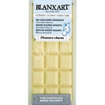 BLANXART Tableta choco blanco sin azucar 100 g