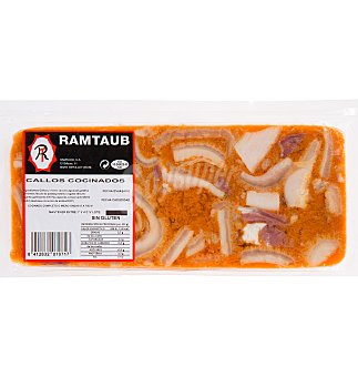 Callos ramtaub bovino cocinad 500 G
