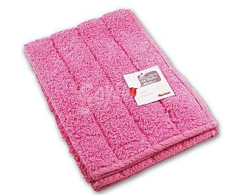AUCHAN Alfombra de rizo 100% algdón, 1200 g/m², color rosa, 40x60 centímetros 1 Unidad
